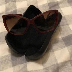 Chanel sunglasses.